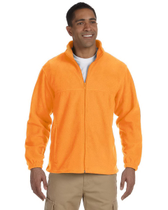 Harriton Men's 8 oz. Full-Zip Fleece